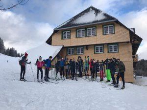 Langlaufhütte 25.-27.01.2019